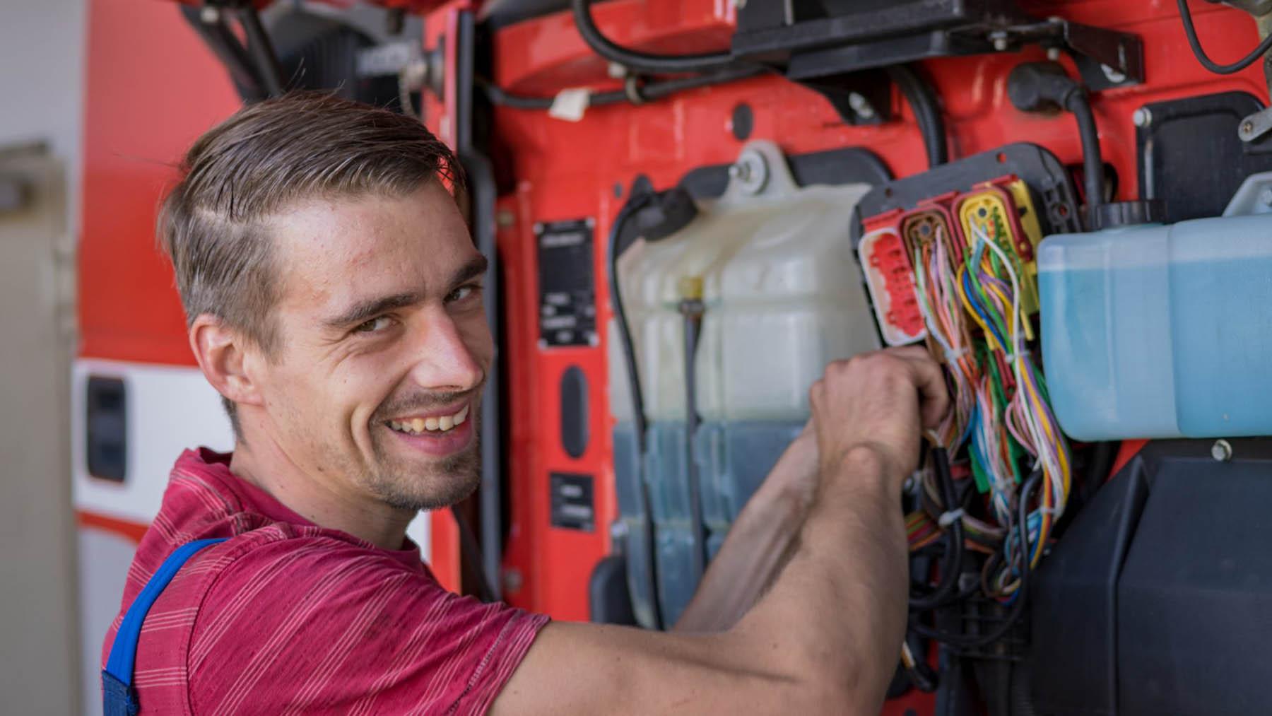 Schober Nutzfahrzeuge Oschatz Instandsetzung Reparatur Werkstatt