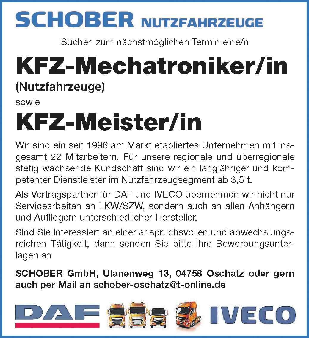 stellenanzeige-schober-oschatz-fkz-mechatroniker-meister